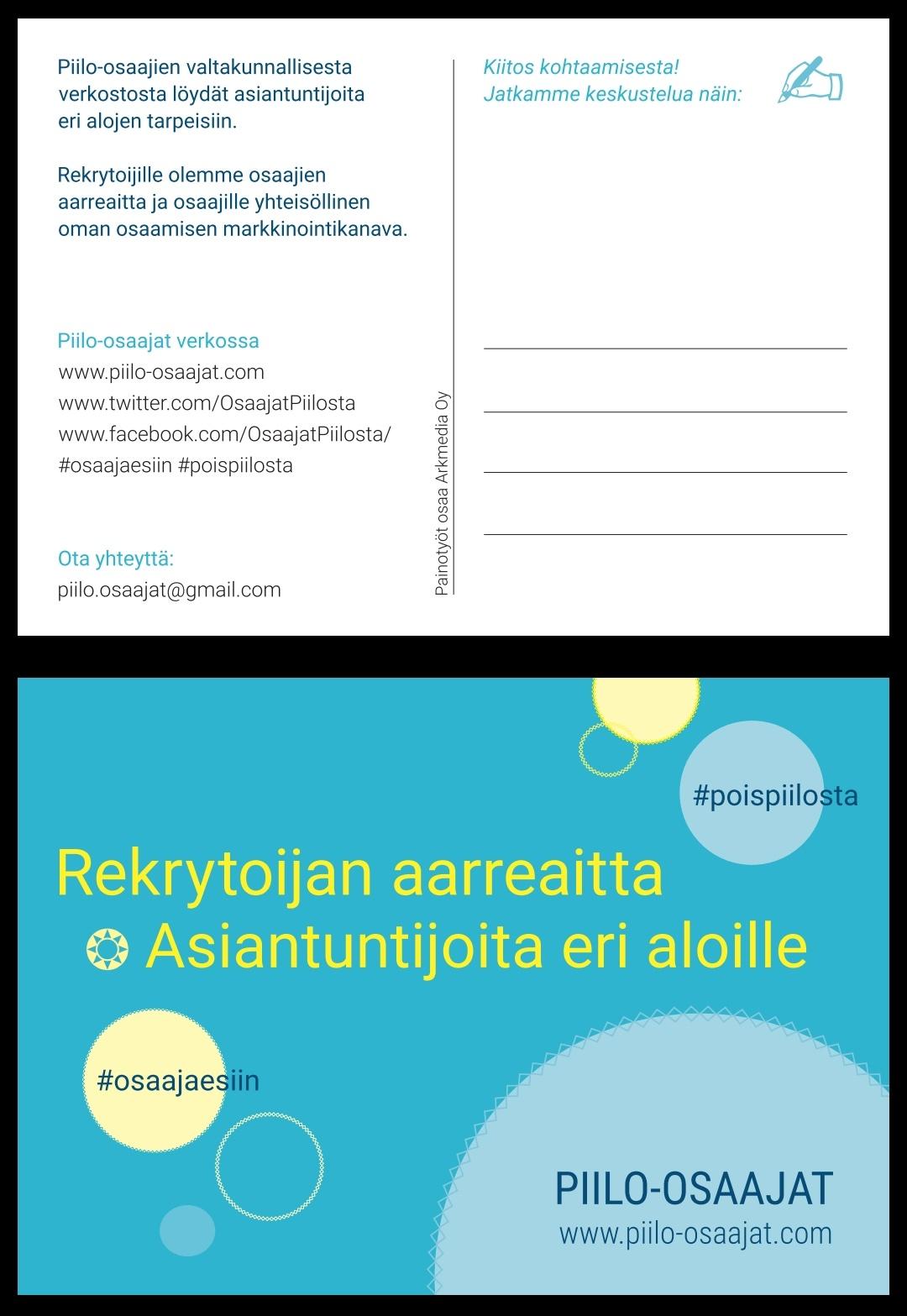 Piilo-osaajat_postikortti_käyntikortti