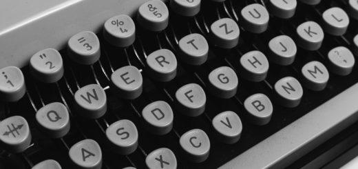 Kirjoituskoneen näppäimistö
