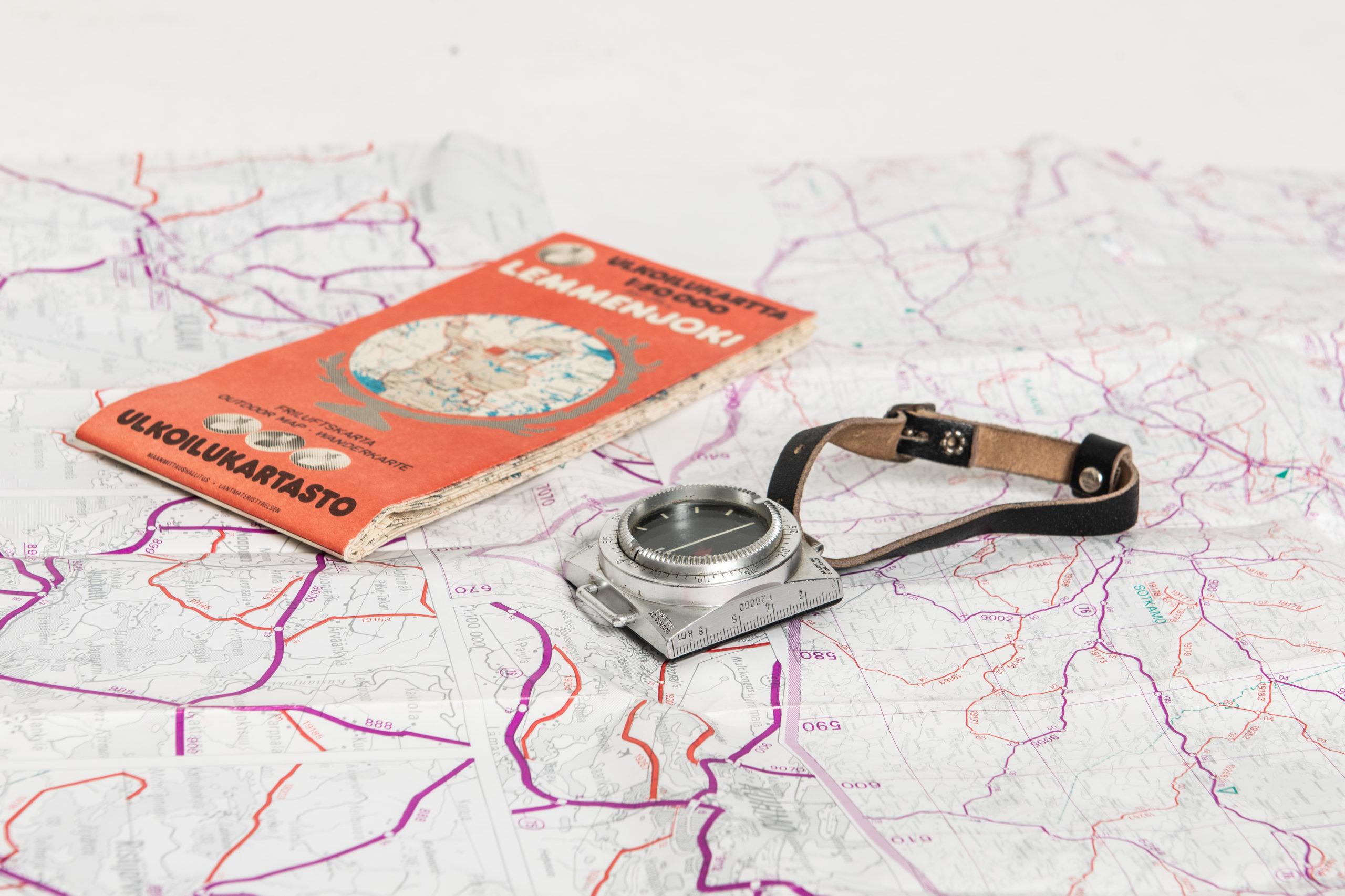 Kartta ja kompassi